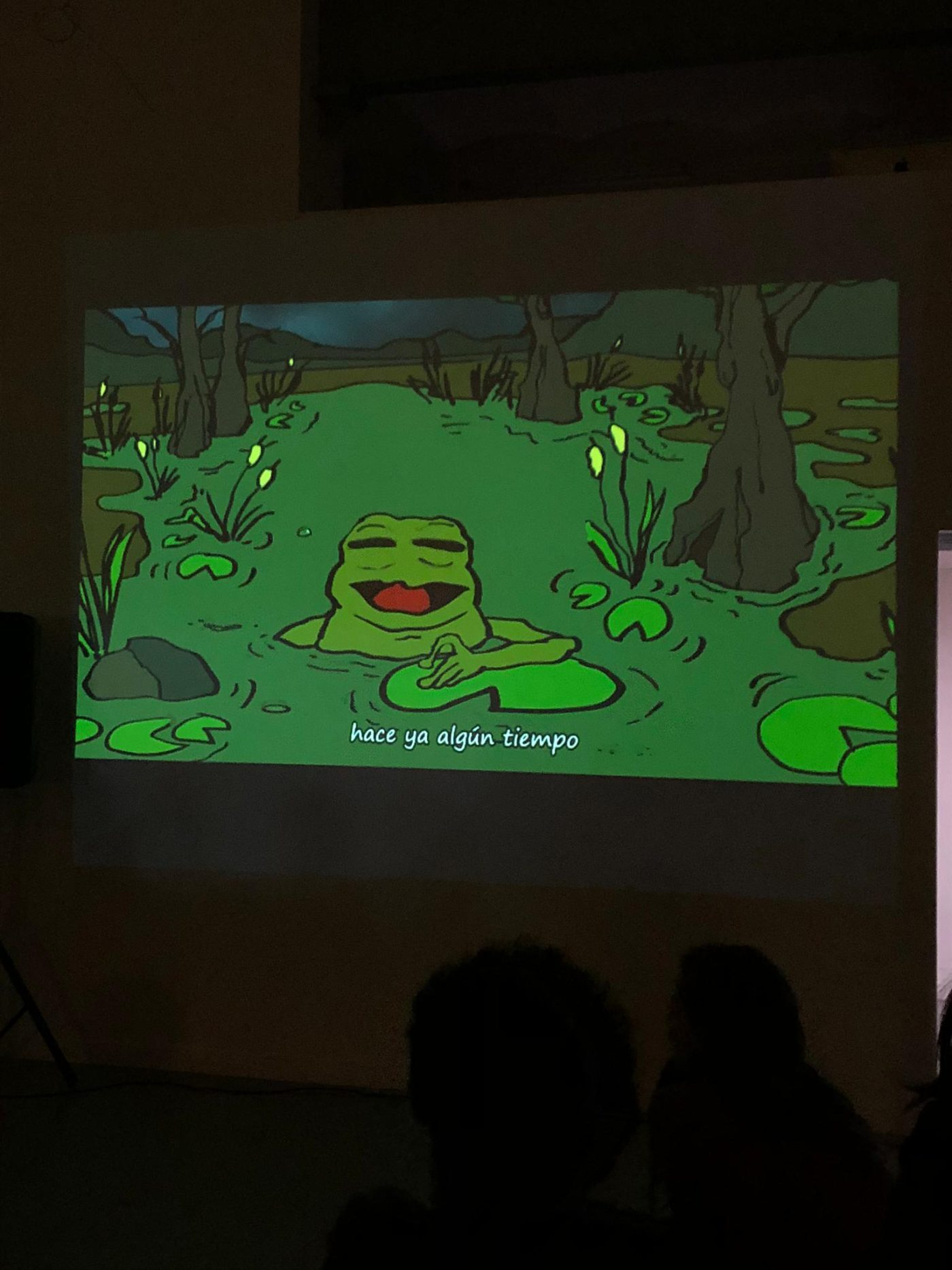 Polly the frog (screening) |Bombon Projects