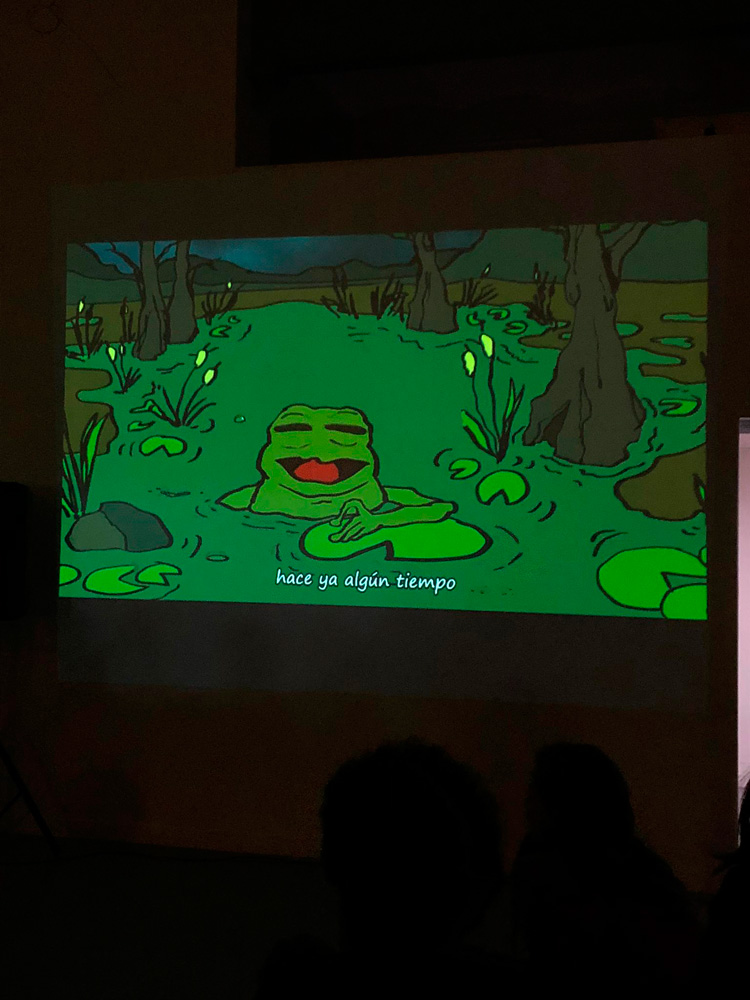 Polly the frog (screening) | Bombon Projects